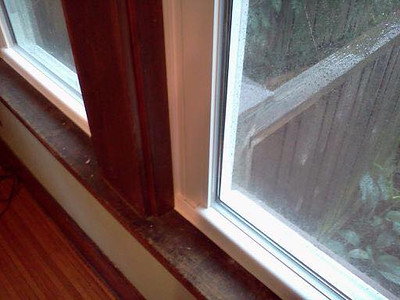 INSTALL WITH GREAT CAULK JOB...CLEAN!!!!