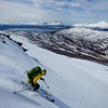 Skiing in the Lyngen Alps, Norway.