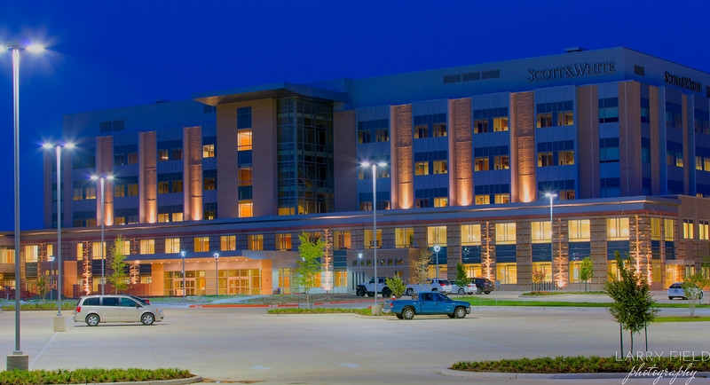 Scott & White Hospital College Station Night Shoot
