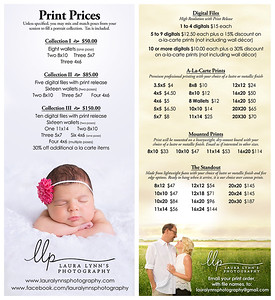 price list_side by side