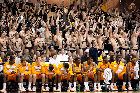 NCAA Basketball: Tennessee at Oakland