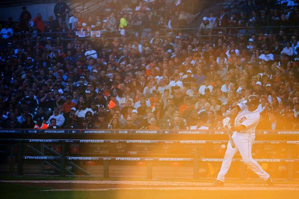MLB: ALDS-Oakland Athletics at Detroit Tigers