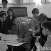 1966-67 Aaron Copland with Arts Academy students