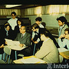 1970 Aaron Copland with students