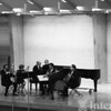 1966-67 Aaron Copland with the Arts Academy faculty quintet