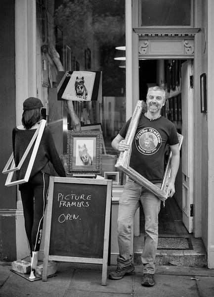 Mark Bowman, Dundas Street Framers, Edinburgh.