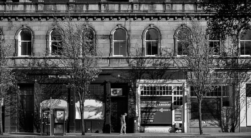 Logan Malloch, The Foot Of Leith Walk, Edinburgh.