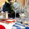 A place setting from a clambake, a popular option for Cape Cod Parties