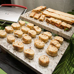 A panini station - The Casual Gourmet, Cape Cod Wedding Caterer