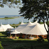 Sperry Tent at a Cape Cod event catered by The Casual Gourmet