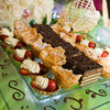 A platter of delicious desserts is the perfect cherry on top of your wedding