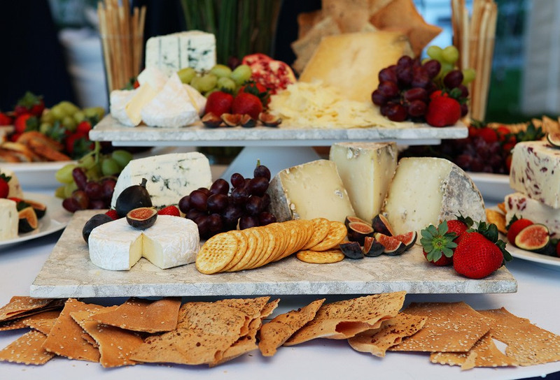 Artisan Cheese Table for Cape Cod Wedding Reception