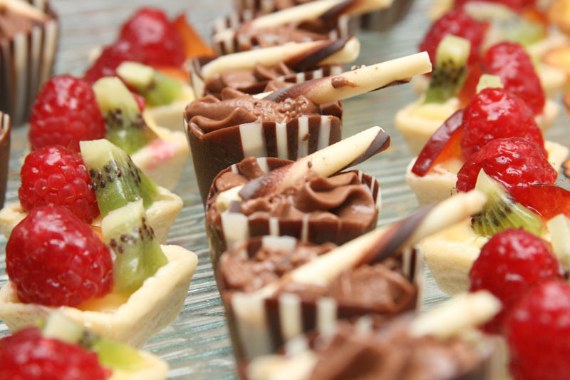 A tasty array of desserts from The Casual Gourmet