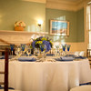 Table setting at Historic Highfield Hall on Cape Cod for your wedding reception.