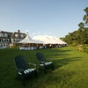 A wedding reception at a private home on Cape Cod. Photo by Amy Riley