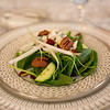 An endive and spinach salad by The Casual Gourmet for your Cape Cod wedding.