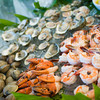 Raw bar is a popular choice for Cape Cod weddings.