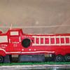 Train Fire Truck Cake