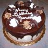 Chocolate shaving cake