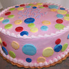 Poka-dot cake