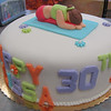Yoga 30th brithday cake