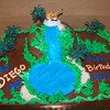 Deigo Birthday Cake