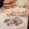 Candy bars, cupcakes and strawberry short cake are common alternatives to a wedding cake.