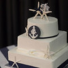 Nautical Themed with Starfish Topper. Perfect for your Cape Cod Wedding!