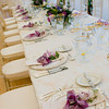 A table setting at a Cape Cod wedding