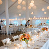 The Casaul Gourmet's professional staff put the final touches on a Cape Cod Wedding (Photo by Bello Photography)