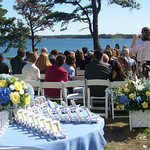 The perfect seaside wedding ceremony on Cape Cod - The Casual Gourmet, Cape Cod Wedding Caterer