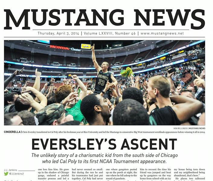 Mustang News April 3rd, 2014