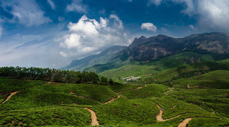 wonderful valley shot