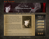 "<a href=""http://aetyree.com/"">http://aetyree.com/</a><br /> <br /> Website design for a.e.Tyree reflects the writer's paranormal stories genre in which vampires, ghosts and spirit guides are the protagonists.<br /> <br /> The four different morphing banner designs give each page a distinct character. The layout is designed in a clean, legible way. The background of the content box is formed by an image of aged yellow pergament paper whcih allows the content to be easily readable.<br /> <br /> I worked very closely with my client making sure that the selected images as well as the overall website look would be a true reflection of her writing."
