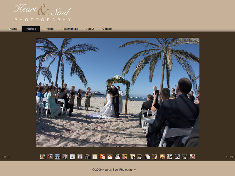 "Visit the site... <b><a href=""http://www.zohodesign.com/websites/hands/"" target=""_blank"">Heart & Soul Photography</a></b>"