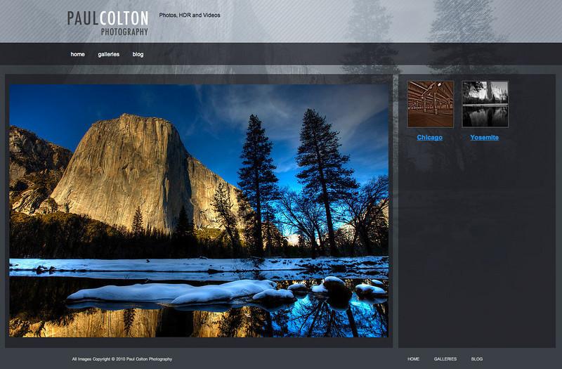 "<div class=""siteDescription""> <b>Paul Colton Photography</b> <p>Visit Paul's SmugMug site: <a href=""http://gallery.paulcolton.com"" target=""_blank"">gallery.paulcolton.com</a></p> <p>Visit Paul's Wordpress blog: <a href=""http://paulcolton.com"" target=""_blank"">paulcolton.com </a></p> </div>"