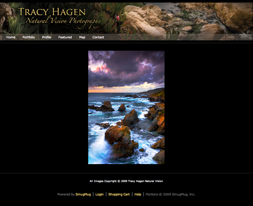 Visit the site... Tracy Hagen - Natural Vision
