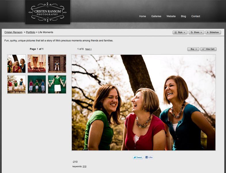 """<div class=""""siteDescription""""> <b>Cristen Ransom Photography</b> <p>Visit the site: <a href=""""http://theransomfamily.smugmug.com/"""" target=""""_blank"""">www.theransomfamily.smugmug.com</a></p> </div>"""