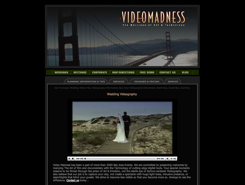 "Visit the site... <b><a href=""http://www.videomadness.com"" target=""_blank"">Video Madness</a></b>"