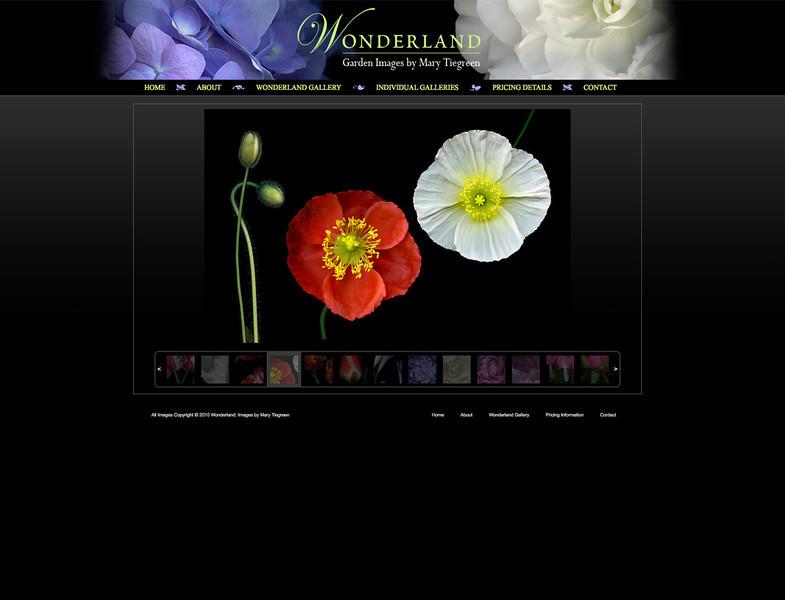 """<div class=""""siteDescription""""> <b>Wonderland - Garden Images by Mary Tiegreen</b> <p>Visit the site: <a href=""""http://tiegreen.smugmug.com/"""" target=""""_blank"""">www.tiegreen.smugmug.com</a></p> </div>"""