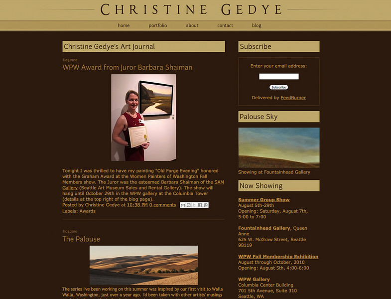 "<div class=""siteDescription""> <b>Christine Gedye Photography</b> <p>Visit the site: <a href=""http://www.christinegedye.com/"" target=""_blank"">www.christinegedye.com</a></p> </div>"