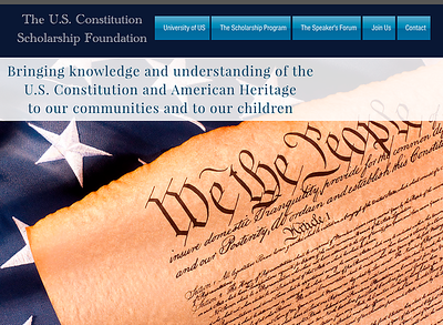 US Constitution Scholarship Foundation