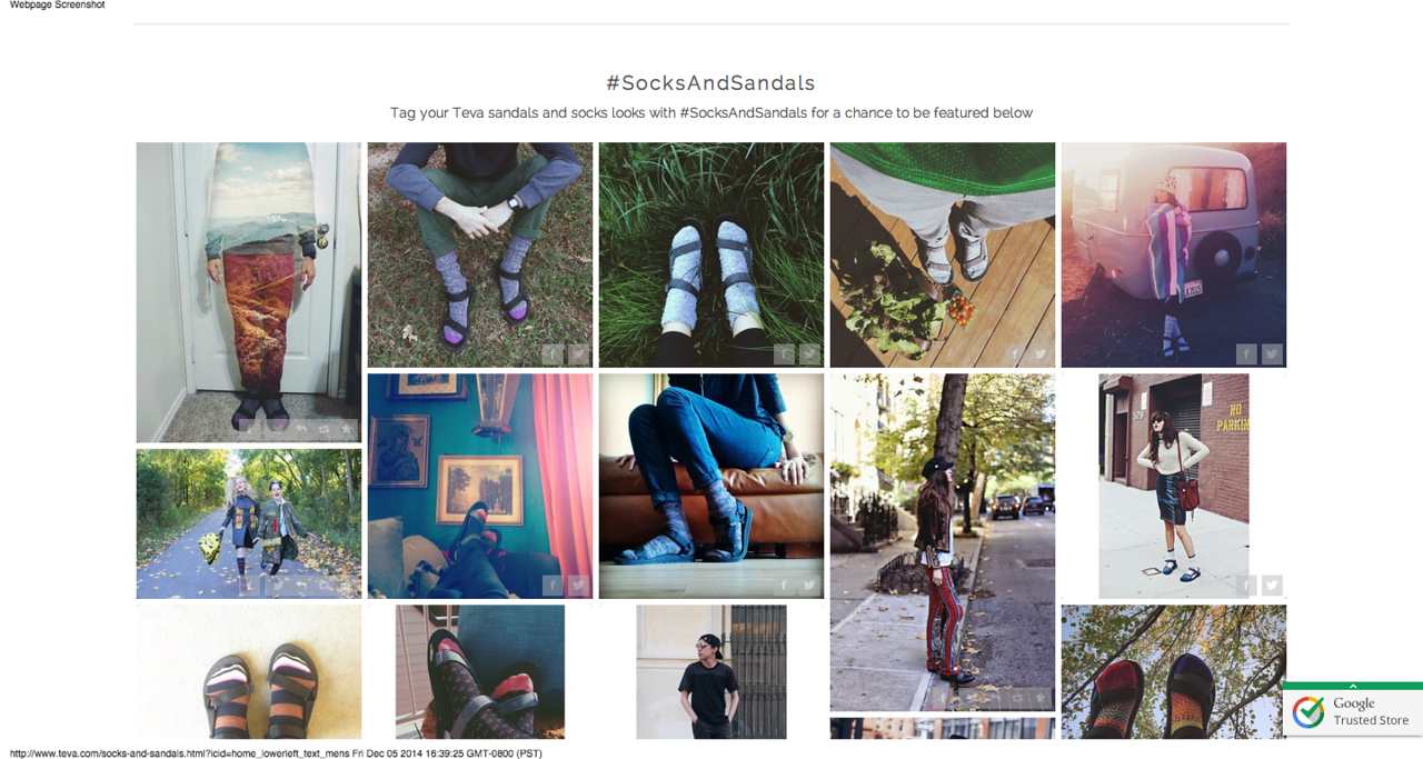 Socks and Sandals Style Guide + Lookbook Teva #SocksandSandals
