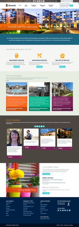 Associa Homeowners Association Management | HOA | Real Estate