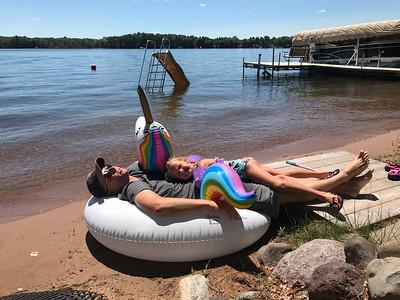 Webster, WI - Klein's Cabin - July 2018