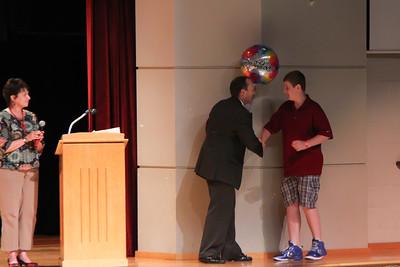 Alec's 7th grade Award