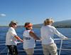 John, Sandy, & Beth ready to swim with the dolphins at Kailua Bay