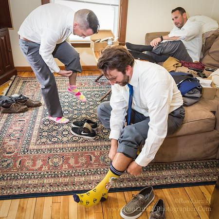 His Lucky Socks