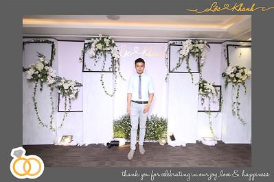 Dịch vụ in ảnh lấy liền & cho thuê photobooth tại sự kiện/tiệc cưới của Lộc & Khanh | Instant Print Photobooth Vietnam at Lộc & Khanh's Wedding