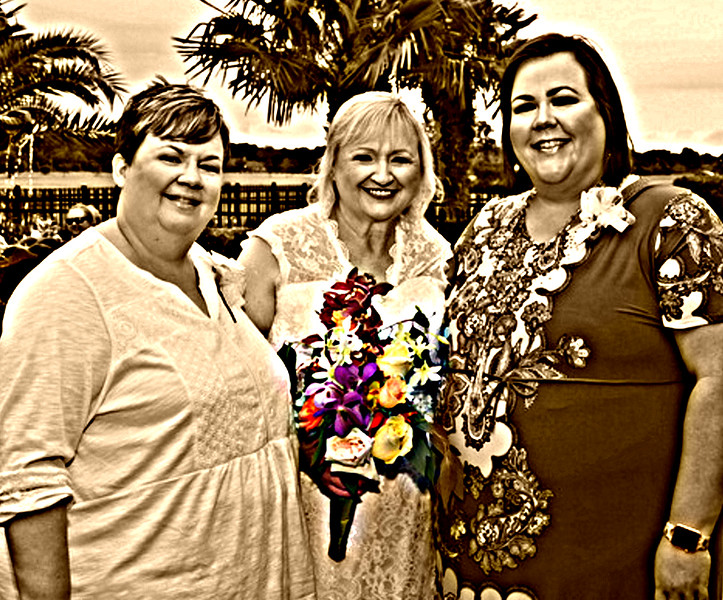 beautiful ladies Mother and daughters